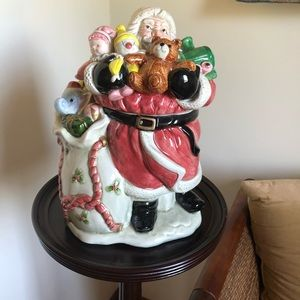 🎄Fitz & Floyd 1988 Santa Cookie Jar